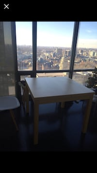 rectangular brown wooden table with chairs dining set Toronto, M4S 1G5