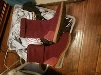 Burgundy ugg boots brand new Simi Valley, 93065