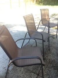 Garden chairs (3 of) Clearwater, 33756