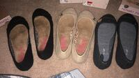 two pairs of black and white slip-on shoes Murfreesboro, 37129