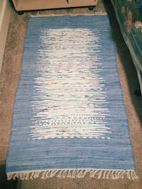 blue and white area rug Syracuse, 13208