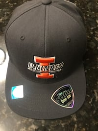 Never Worn - Illini Hat - Charcoal - Adult Size - Retail $28 Chicago, 60657