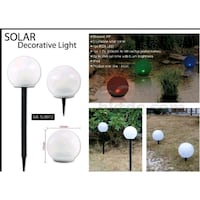 Assorted-Color Solar Decorative Light  Vaughan, L4H 2Z2