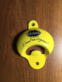 yellow Mike's a canadian original bottle opener