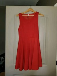 women's red sleeveless dress Navarre, 32566