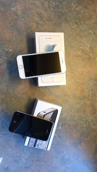 Silver iphone 6 with box Colorado Springs, 80917