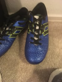 blue-and-black Adidas running shoes Missouri City, 77459