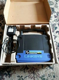 Linksys wireless router  Windsor, N8T 1P7