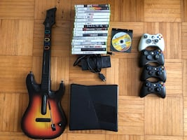 Xbox 360 Bundle (Guitar Hero) OBO