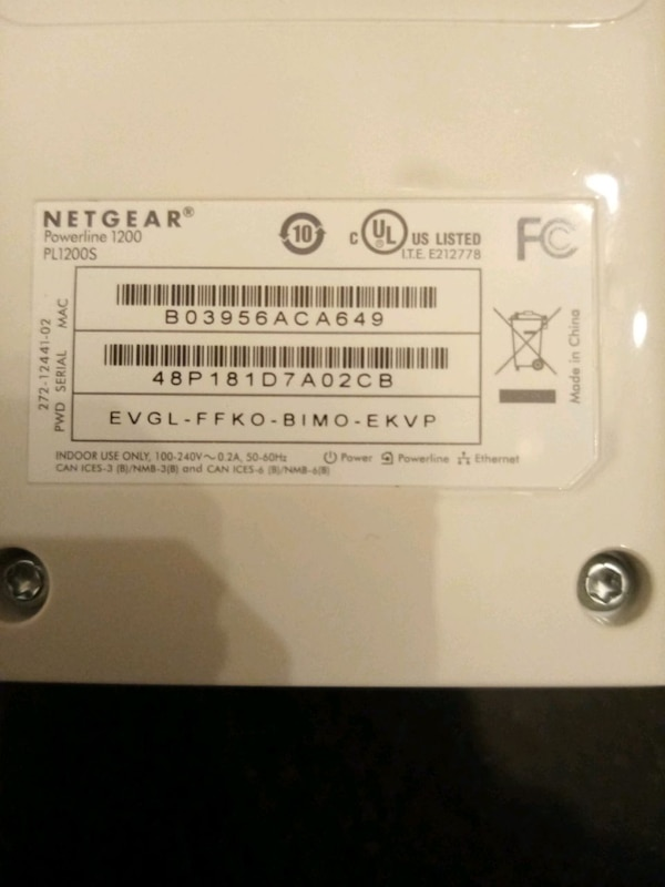 Ethernet device NETGEAR 1