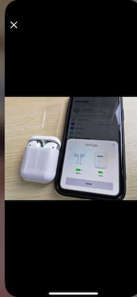 I12 (AIRPODS) BRAND NEW SEALED IN BOX NEVER OPENED ONLY 40$!!! WIRELESS CHARGING & TOUCH CONTROL high quality perfect sound  Toronto, M1G 3T2