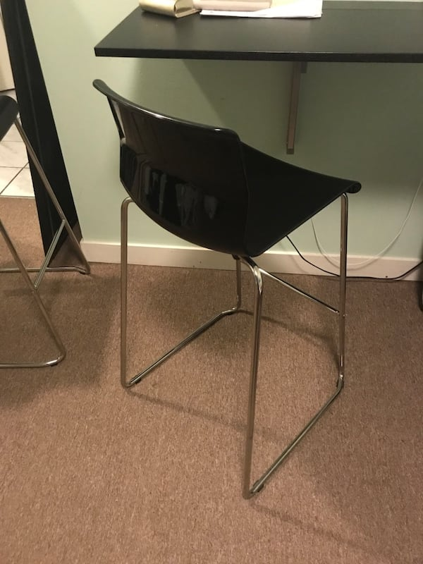 Volfgang ikea bar stool with backrest 4