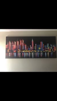 6 Foot by 3 1/2 Canvas Painting  San Diego, 92124