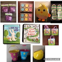 Easter items for sale all new (see prices below) Toronto, M9P 1P7