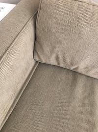 gray fabric 3-seat sofa Arlington, 22201