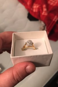 Gold plated ring Châteauguay, J6J 2Y1