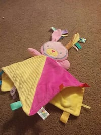 pink and yellow bunny plush toy Guelph, N1H 5R9
