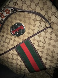 Gucci backpack green and red obo 215 friendly  Marysville, 95901