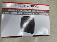 Portable Heater 1500W with thermostat Calgary, T2X 0V6