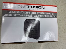 Portable Heater 1500W with thermostat