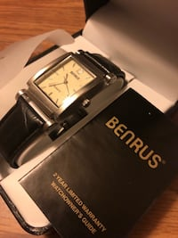 Brand New in box Benrus Mens Watch Franklin Park, 60131