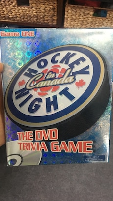 Hockey Night in Canada the DVD trivia game box
