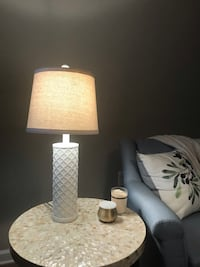 "24"" Table lamp - white - lightbulb included Arlington, 22203"