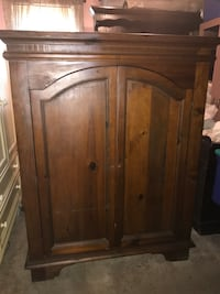 Heavy Wooden Armoire Fall River, 02720