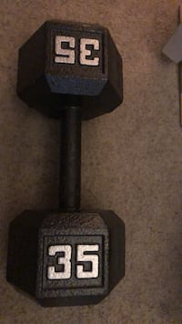 35 lb Dumbbell Work Out Colorado Springs, 80918