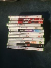 assorted Xbox 360 game cases Saddle Brook, 07663
