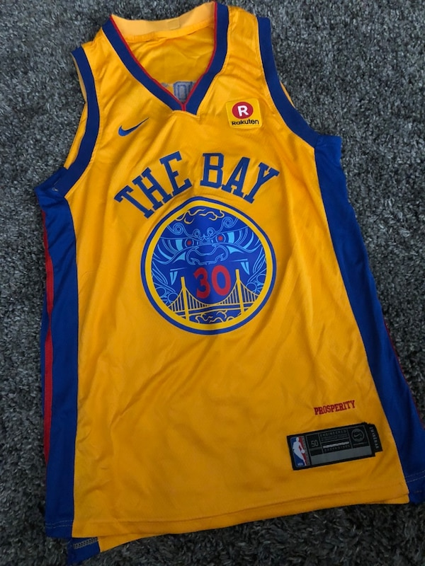 88f27a4f Golden state warriors Chinese New Year jersey usado en venta en San ...