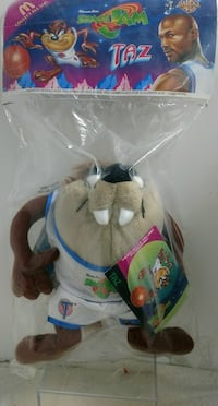 Space Jam Taz Tune Squad Plush Glen Mills, 19342