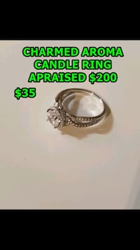 Ring from Charmed aroma candle Surrey, V3T