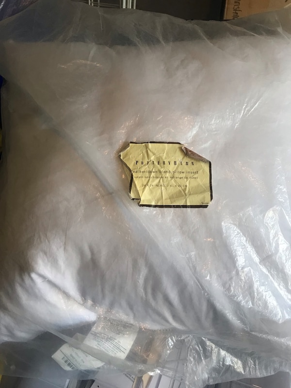 Pottery Barn New Feather Pillow 146c95ff-ede9-4ac2-bfe5-70d223292c2d