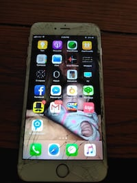 Silver iphone 6 with case Glasgow, 42141