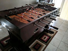 Solid Wood Foosball Table LIKE NEW