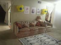 3sitter with  one single couch Colorado Springs, 80920