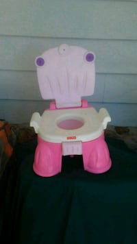 white and pink Fisher-Price potty trainer Atascadero, 93422