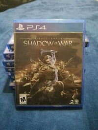 Shadow of war middle earth PS4 Game Clovis, 93612