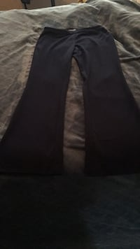 Navy blue boot-cut dress pants 53 km