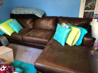 Brown Comeaux Sectional Sofa Metairie, 70005