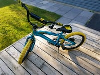 toddler's blue and green bicycle Wellesley, N0B 2T0