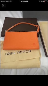 Authentic never used Louis Vuitton epic leather pochette Las Vegas, 89120