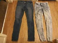 three pairs of blue jeans Bakersfield, 93306