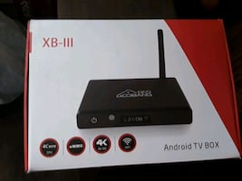 Brand new android box updated and ready to use