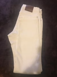 White and gray drawstring pants Chicago, 60615