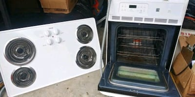 Stove drop top and built in oven