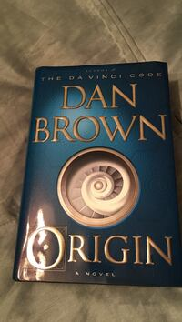Dan brown origin a novel book Mississauga