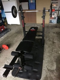 Gym bench press  with bar bells Vaughan, L4K 5H5