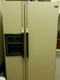 white side-by-side refrigerator with dispenser Anaheim, 92804